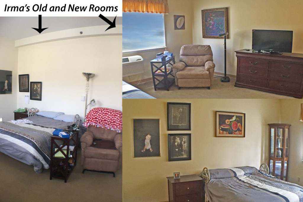Irmas New Room